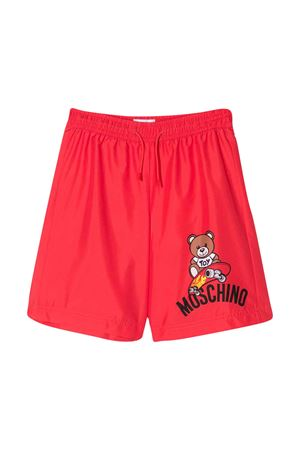 Red swimsuit with frontal press Moschino kids MOSCHINO KIDS | 85 | HUL011LKA0250109