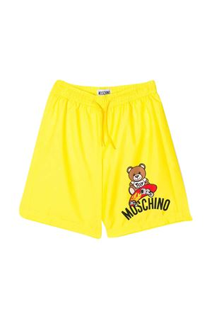 Costume da bagno giallo Moschino kids MOSCHINO KIDS | 85 | HUL011LKA0251633