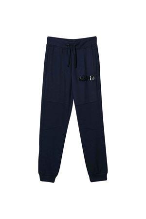 Pantaloni blu Moschino kids MOSCHINO KIDS | 9 | HUP03DLCA1740016