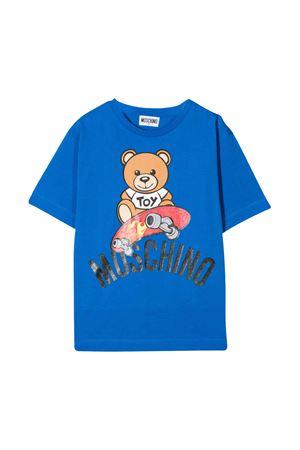 T-shirt blu Moschino kids MOSCHINO KIDS | 5032307 | HVM029LBA1040624