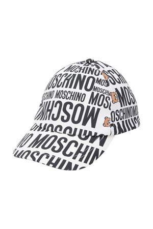Cappello bianco Moschino kids MOSCHINO KIDS | 75988881 | HVX00WLMB0684911