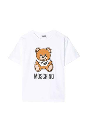 T-shirt bianca Moschino kids MOSCHINO KIDS | 5032307 | HWM029LBA0010101