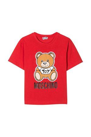 T-shirt rossa Moschino kids MOSCHINO KIDS | 5032307 | HWM029LBA0050109