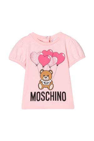 Pink T-shirt Moschino kids  MOSCHINO KIDS | 8 | MAM02BLBA0050209