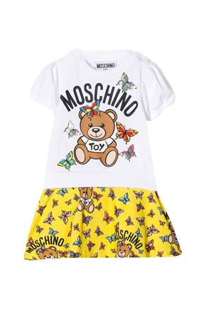 White flared dress Moschino kids MOSCHINO KIDS | 11 | MAV06XLBA0010101