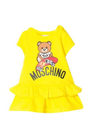 Yellow dress with flounces Moschino kids MOSCHINO KIDS | 11 | MAV06YLDA1351633