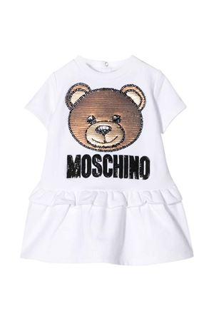 Abito bianco Moschino kids MOSCHINO KIDS   11   MBV074LDA1210101
