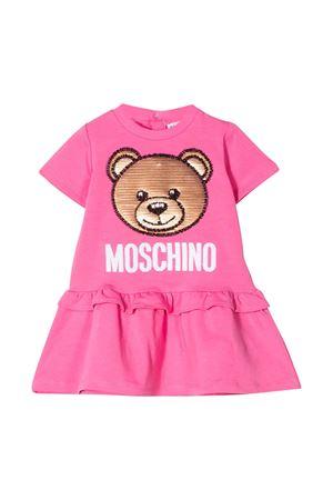 Pink dress Moschino kids  MOSCHINO KIDS | 11 | MBV074LDA1251470