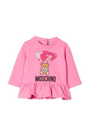 Pink sweatshirt Moschino kids  MOSCHINO KIDS | -108764232 | MDF01YLDA0051470