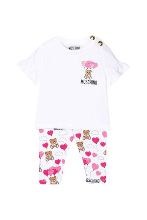 White suit Moschino kids  MOSCHINO KIDS | 42 | MDG002LBB2484907