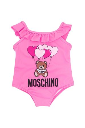 Pink one-piece swimsuit Moschino kids  MOSCHINO KIDS | 85 | MDL00CLKA0051470