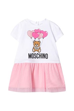 Abito bianco Moschino kids MOSCHINO KIDS   11   MDV07XLBA0080457