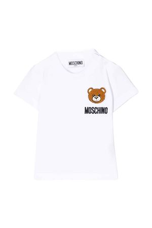 T-shirt bianca Moschino kids MOSCHINO KIDS | 5032307 | MMM01NLBA1010101
