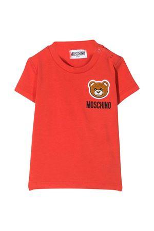 Red  T-shirt Moschino kids  MOSCHINO KIDS | 5032307 | MMM01NLBA1050109