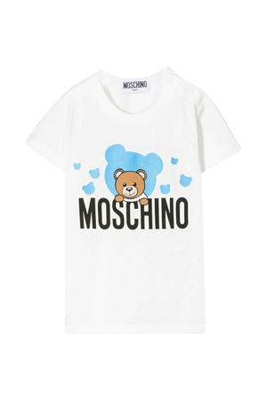 White t-shirt  Moschino kids  MOSCHINO KIDS | 5032307 | MNM01NLAA0310063
