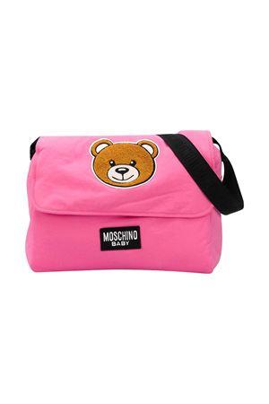 Pink changing bag Moschino kids MOSCHINO KIDS | 31 | MNX036LDA1251470