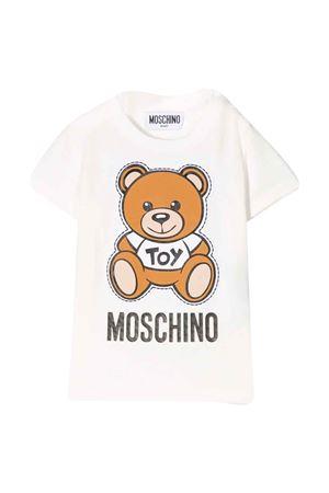 White T-shirt Moschino kids  MOSCHINO KIDS | 5032307 | MOM01NLBA0010063