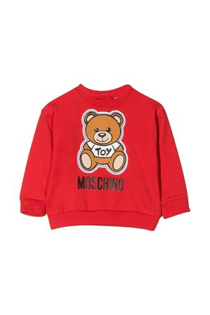 Red sweatshirt Moschino kids  MOSCHINO KIDS | -108764232 | MPF02ZLDA0050109