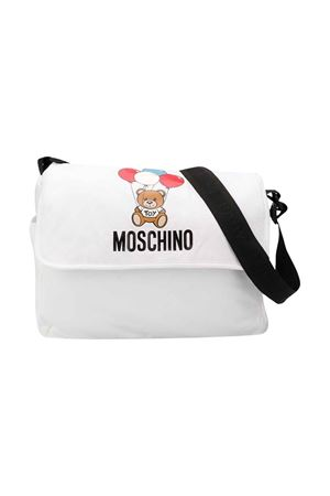 White bad with black strap Moschino kids MOSCHINO KIDS | 31 | MPX036LBA0010101