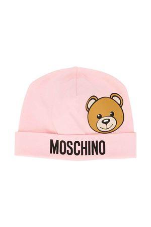 Cappello rosa Moschino kids MOSCHINO KIDS | 75988881 | MQX031LBA0050209