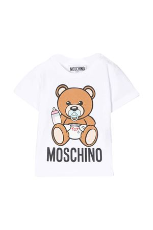 T-shirt bianca Moschino kids MOSCHINO KIDS | 8 | MRM021LBA0010101