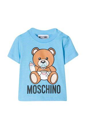 T-shirt blu Moschino kids MOSCHINO KIDS | 8 | MRM021LBA0040507