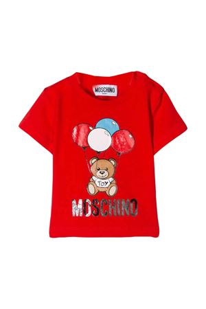 Red t-shirt Moschino kids  MOSCHINO KIDS | 8 | MSM021LBA0050109