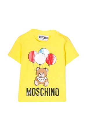 T-shirt gialla Moschino kids MOSCHINO KIDS | 8 | MSM021LBA0051633