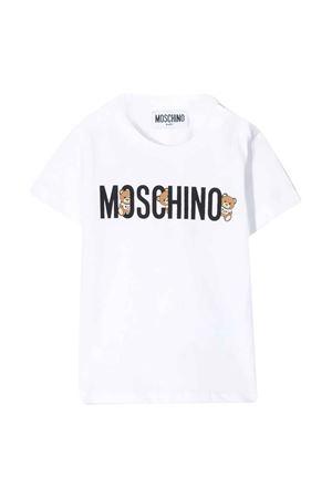 T-shirt bianca Moschino kids MOSCHINO KIDS | 8 | MTM021LAA0810101