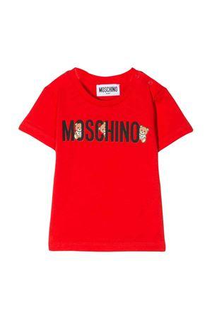 T-shirt rossa Moschino kids MOSCHINO KIDS | 8 | MTM021LAA0850109