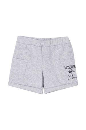 Shorts grigi Moschino kids MOSCHINO KIDS | 30 | MUQ000LCA1560926