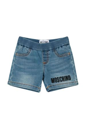 Blue Teddy Bear shorts Moschino kids MOSCHINO KIDS | 30 | MUQ002LDE0340166