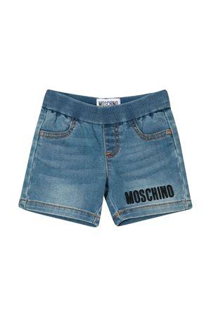 Shorts blu Teddy Bear Moschino kids MOSCHINO KIDS | 30 | MUQ002LDE0340166