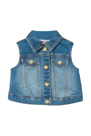 Denim sleeveless jacket Moschino kids MOSCHINO KIDS | 38 | MUS01MLDE0340166