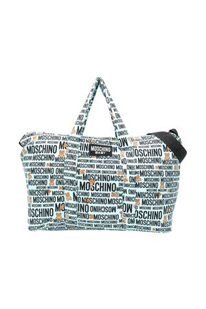 White changing bag with logo Moschino kids MOSCHINO KIDS | 31 | MYX02YLDB2882547
