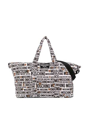 White changing bag with Teddy Bear press Moschino kids MOSCHINO KIDS | 31 | MYX02YLDB2884911