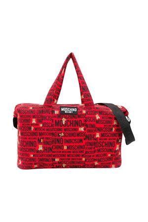 Red changing bag with press Moschino kids MOSCHINO KIDS | 31 | MYX02YLDB2884915