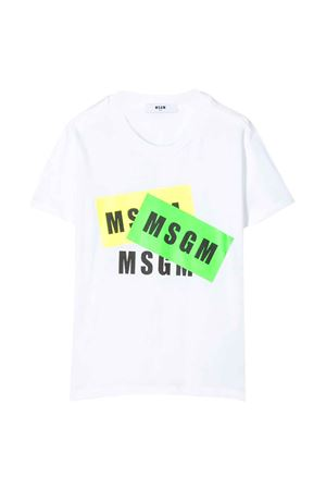 White T-shirt MSGM kids MSGM KIDS | 8 | 022094001