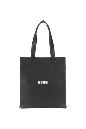 Black shoulder bag MSGM kids MSGM KIDS   31   022139110