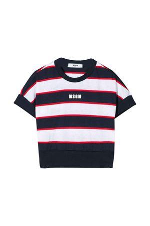 T-shirt a righe MSGM kids MSGM KIDS | 7 | 022219200