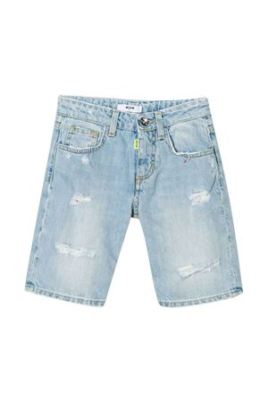 Denim bermuda shorts Msgm Kids MSGM KIDS | 5 | 022421126