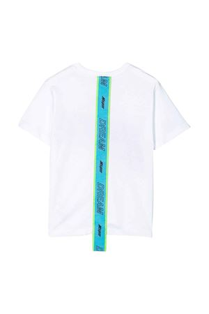 White t-shirt with black press and back application Msgm kids MSGM KIDS | 8 | 022428001