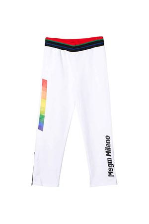 White trousers MSGM kids  MSGM KIDS | 9 | 022454001