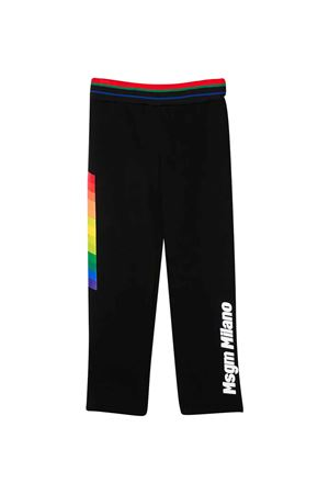 Black trousers MSGM kids  MSGM KIDS | 9 | 022454110