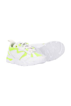 White teen shoes with yellow textures msgm Kids MSGM KIDS | 12 | 022765001/30T