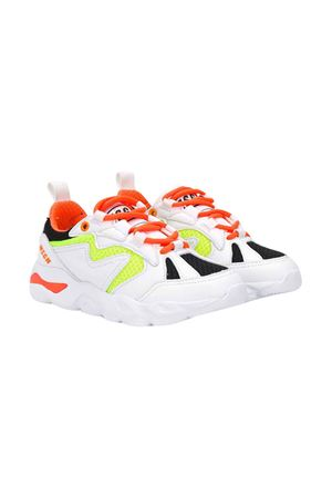 White teen shoes with colored details Msgm Kids MSGM KIDS | 12 | 022766001/33T
