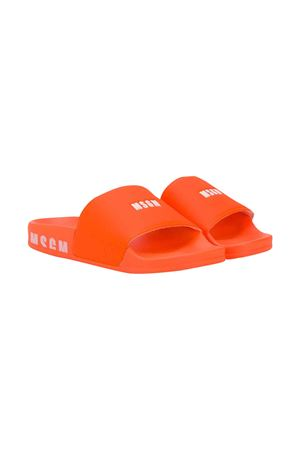 Orange MSGM KIDS slippers  MSGM KIDS | 11041766 | 022767176
