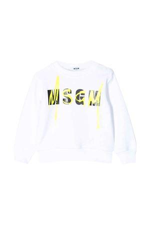 White sweatshirt MSGM kids  MSGM KIDS | -108764232 | 023924001
