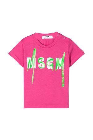 T-shirt fucsia MSGM kids MSGM KIDS | 8 | 023925044