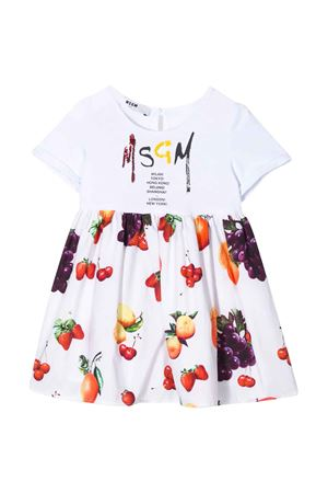 Abito bianco MSGM kids MSGM KIDS | 11 | 023943200